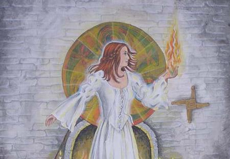 Diosa Brighid celta