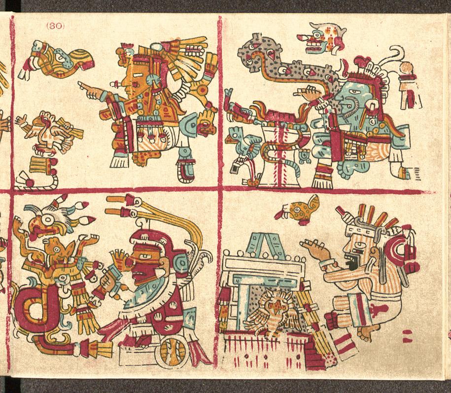 Dioses De La Mitología Mexicana Simbología Y Leyendas