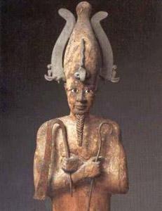 Dios Osiris. Mitología egipcia.